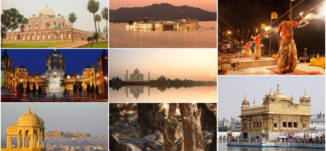 Mejores Lugares Turisticos De India para visitar, Viaje a La India