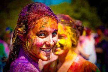 Festival de Holi en India 2019